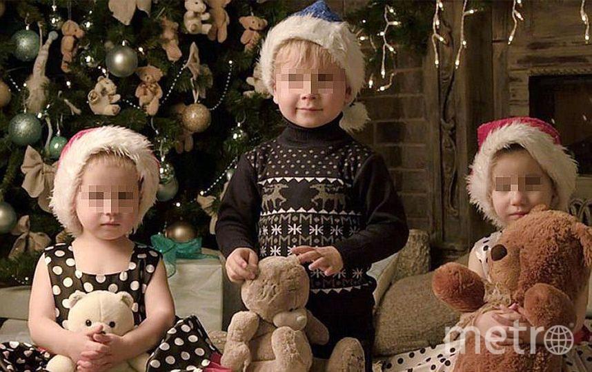 Дети семьи Дель. Фото instagram Светланы Дель