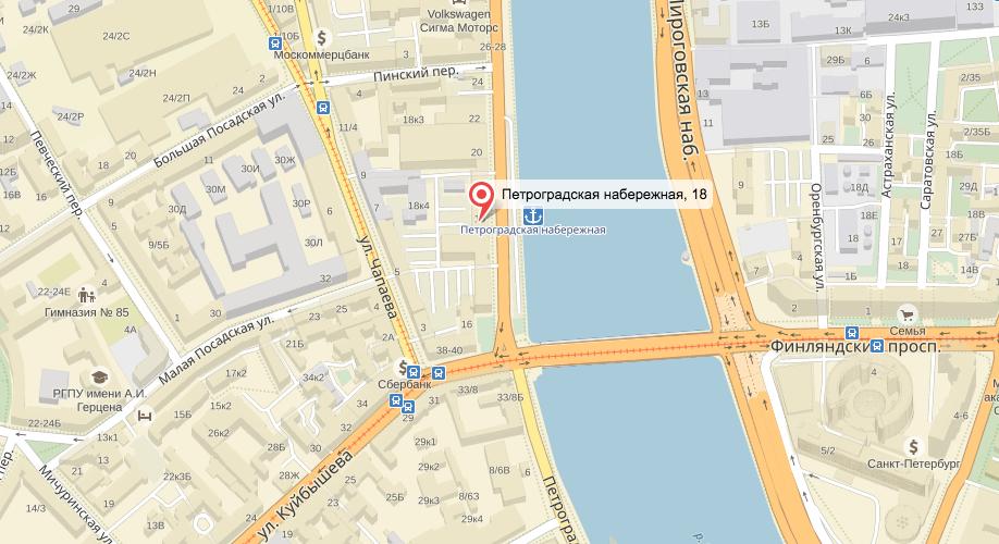 Движение ограничили. Фото Яндек.Карты