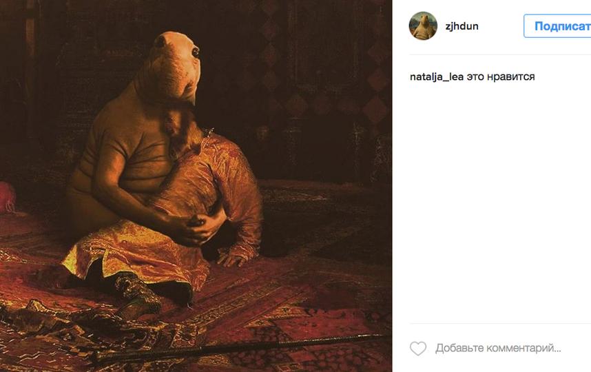 Пухлый Ждун меняет профессию. Фото Instagram/zjhdun