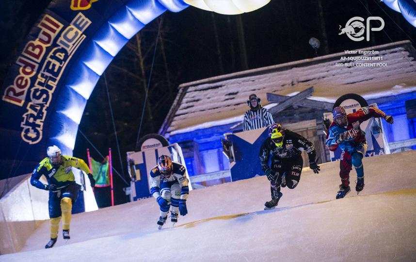 Соревнования RedBull Crashed Ice в Финляндии. Фото Фото предоставлено Red Bull