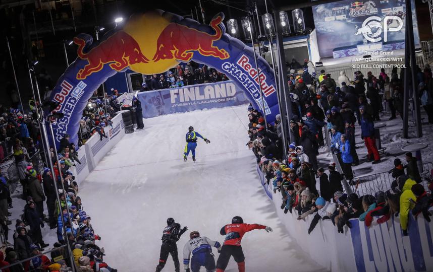 Трасса RedBull Crashed Ice в Финляндии. Фото Фото предоставлено Red Bull
