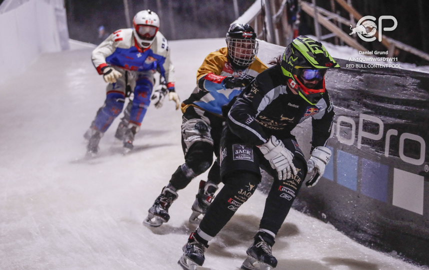 Участники RedBull Crashed Ice в Финляндии. Фото Фото предоставлено Red Bull