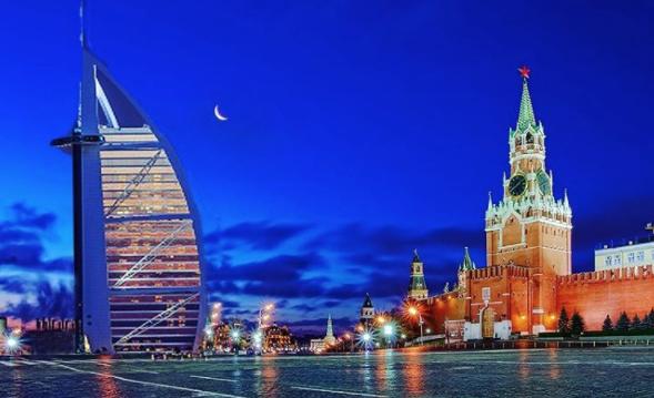 """Отель """"Парус"""" на Красной площади. Фото Instagram/mskdreams"""
