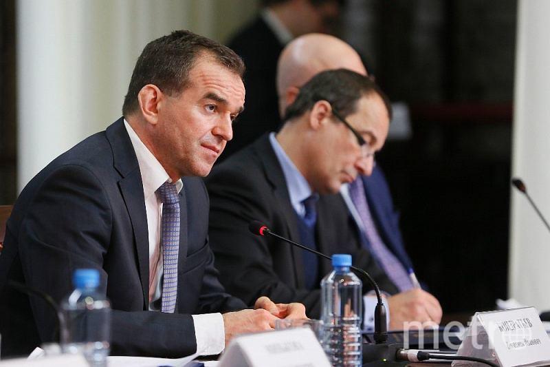 Вениамин Кондратьев, глава Кубани. Фото admkrai.krasnodar.ru