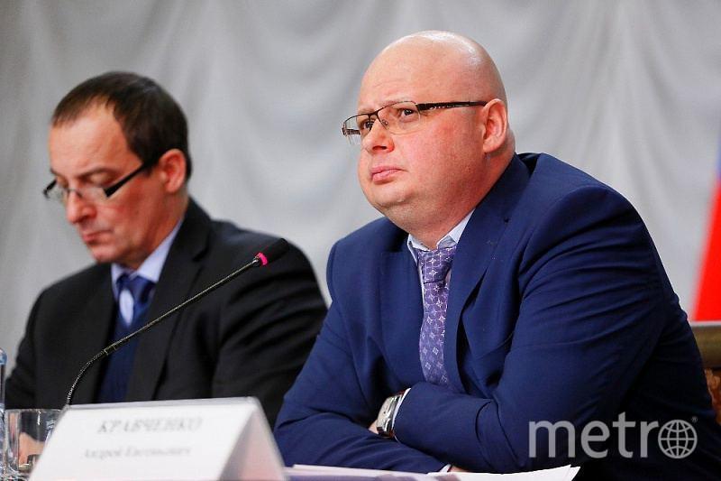 Андрей Кравченко, экс-глава Апшеронского района. Фото admkrai.krasnodar.ru