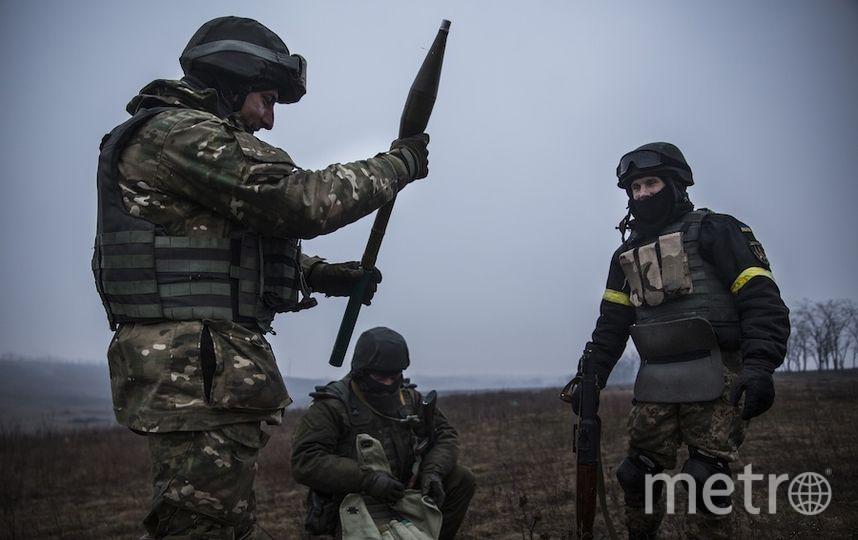 Военный конфликт на Донбассе. Фото Getty