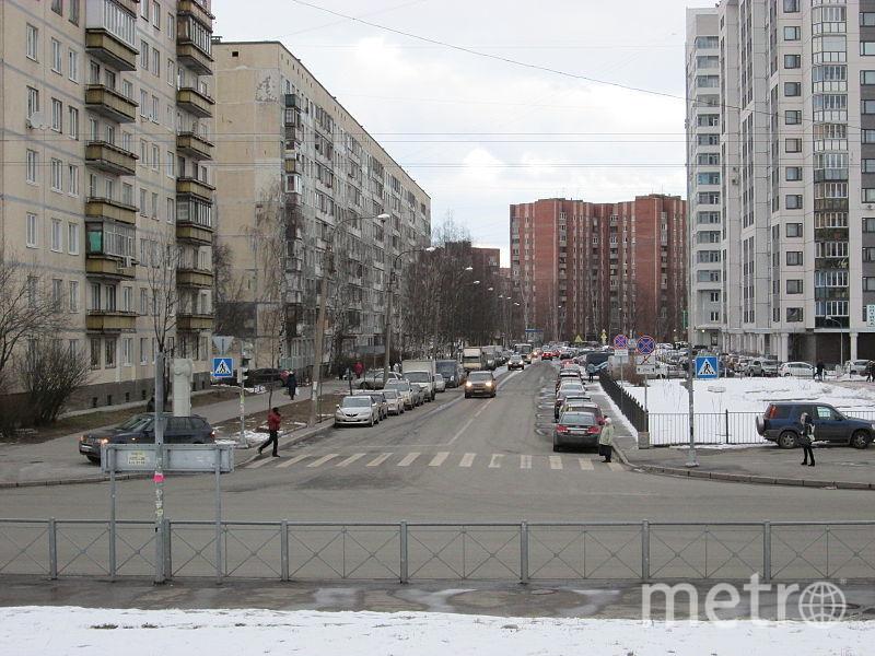 Улица Асафьева. Фото ArtTrapeza / wikimedia
