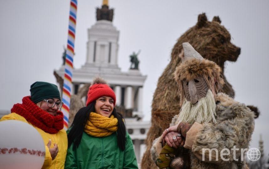 Место активных развлечений. Фото РИА Новости
