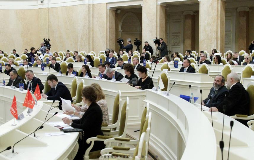 Вице-губернатора Петербурга выбирали тайно. Фото assembly.spb.ru