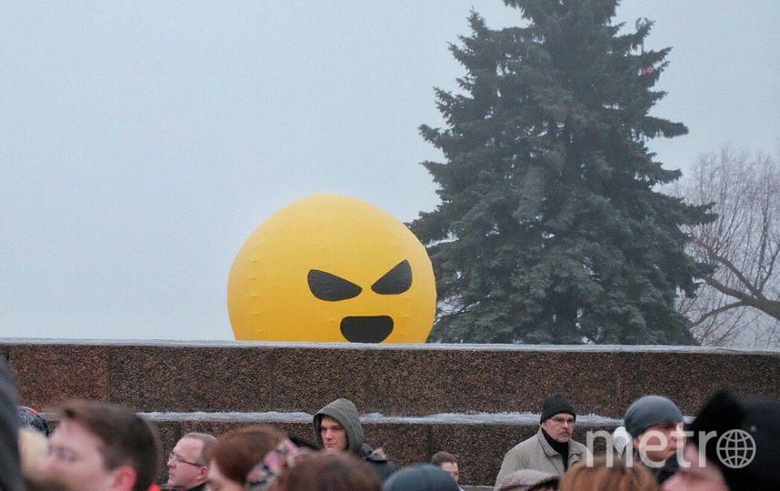 """Митинг на Марсовом поле. Фото Алена Бобрович, """"Metro"""""""