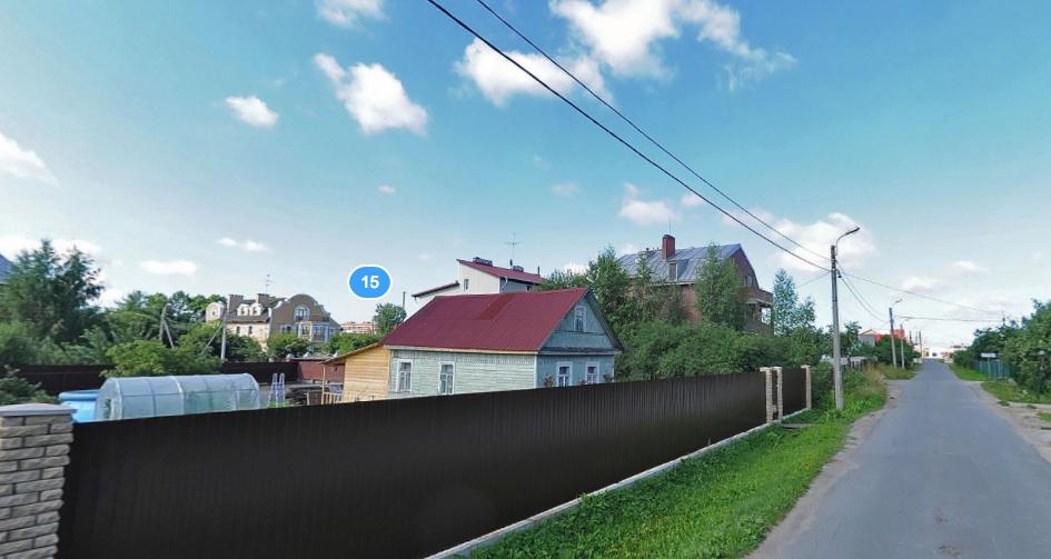 Картину похитили из одного из частных домов Красного села. Фото Яндекс.Панорамы.