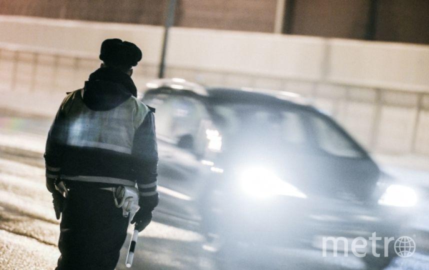 Водитель сбил полицейского при попытке проверить у него документы. Фото РИА Новости