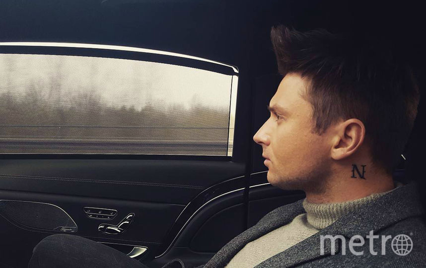 Сергей Лазарев с новой тату. Фото instagram.com/lazarevsergey