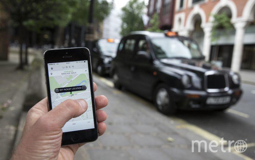 """Главные агрегатор такси столицы: """"Яндекс.Такси"""", GettTaxi и Uber. Фото Getty"""