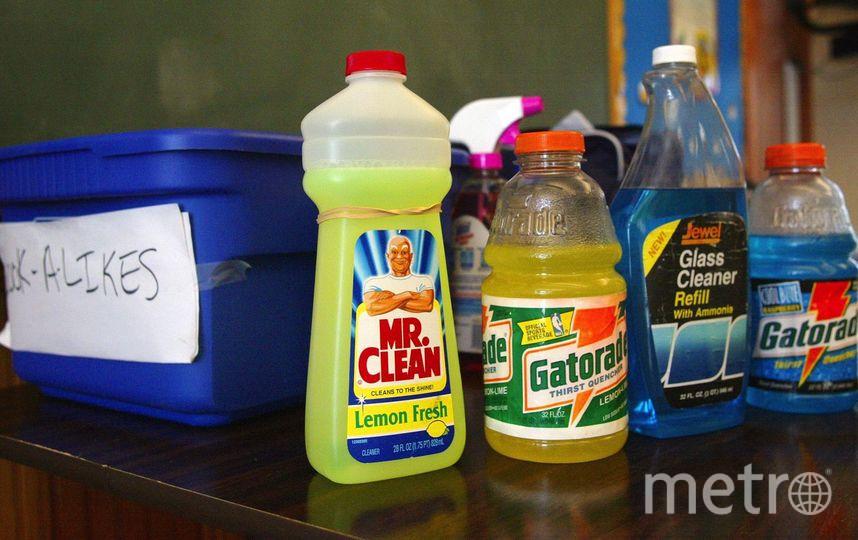 Маленький петербуржец выпил моющее средство и попал в больницу. Фото Getty