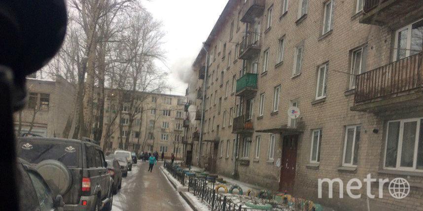 Вкоммунальной квартире вНевском районе горел коридор