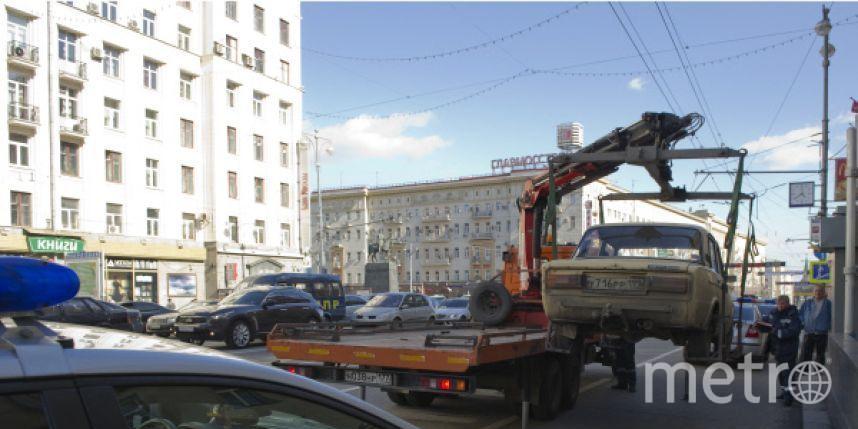 Кавказцы избили эвакуаторщика в столицеРФ