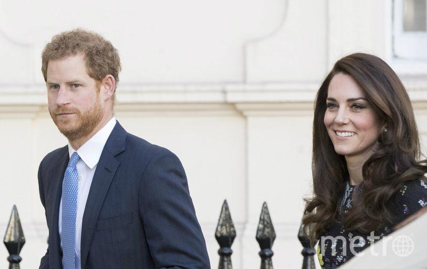 Герцогиня Кэтрин и принц Гарри. Фото Getty
