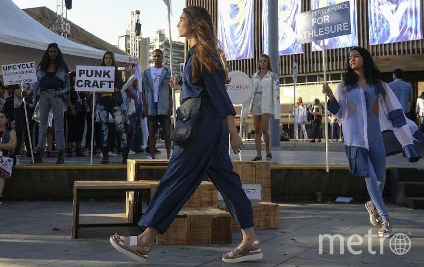 Неделя высокой моды в Медельин. Фото AFP