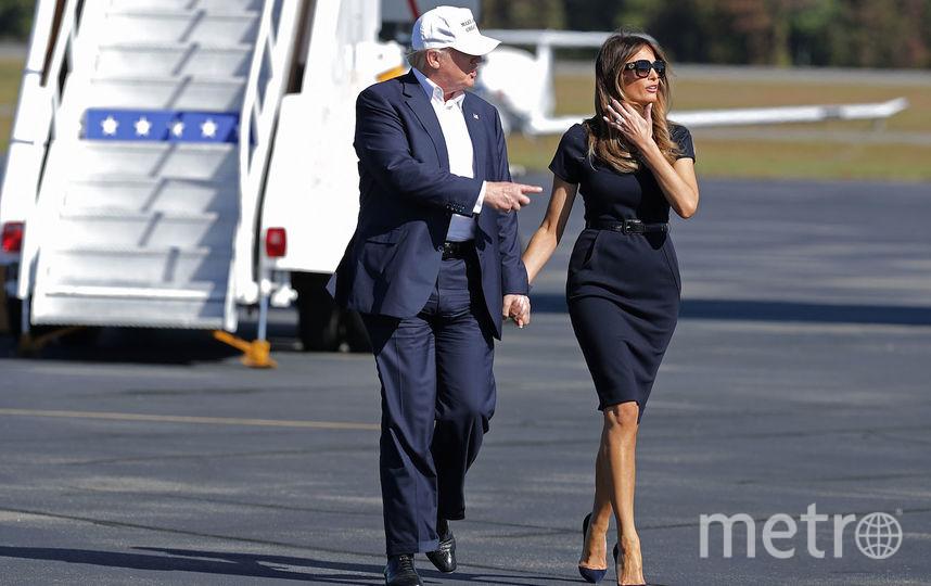 Мелания Трамп с мужем Дональдом. Фото Getty
