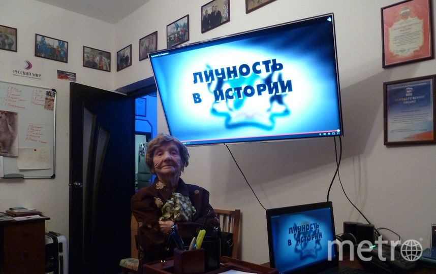 Зоя Булгакова была общественницей: до 95 лет возглавляла Новосибирский городской совет ветеранов войны. Фото предоставлено родственниками