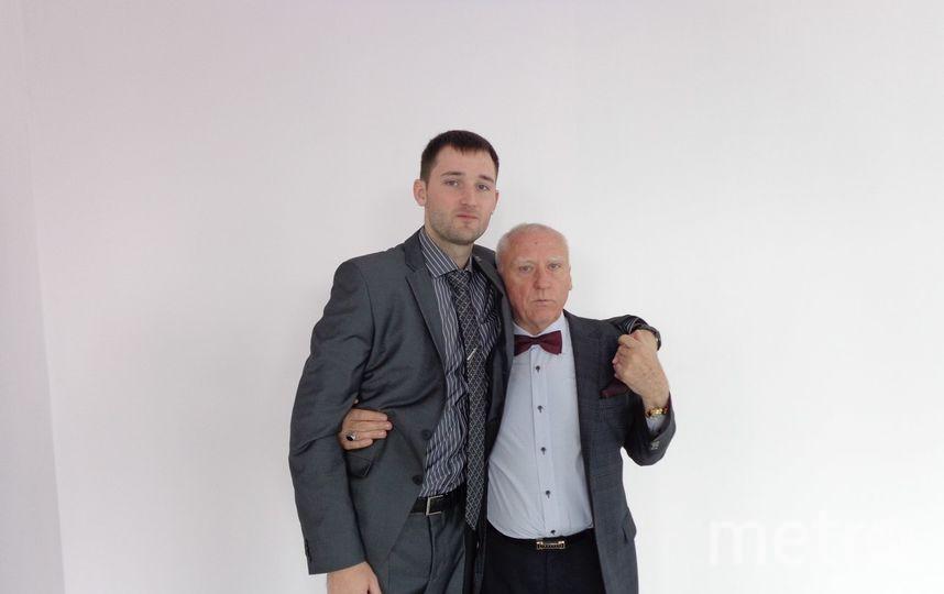 Сергей и Владимир Виноградовы, опекун актрисы и его сын. Фото предоставлено родственниками