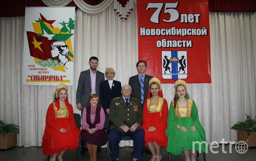 Зоя Булгакова на концерте, посвящённом юбилею Новосибирской области. Фото предоставлено родственниками