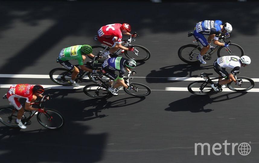 Велогонка. Фото Getty