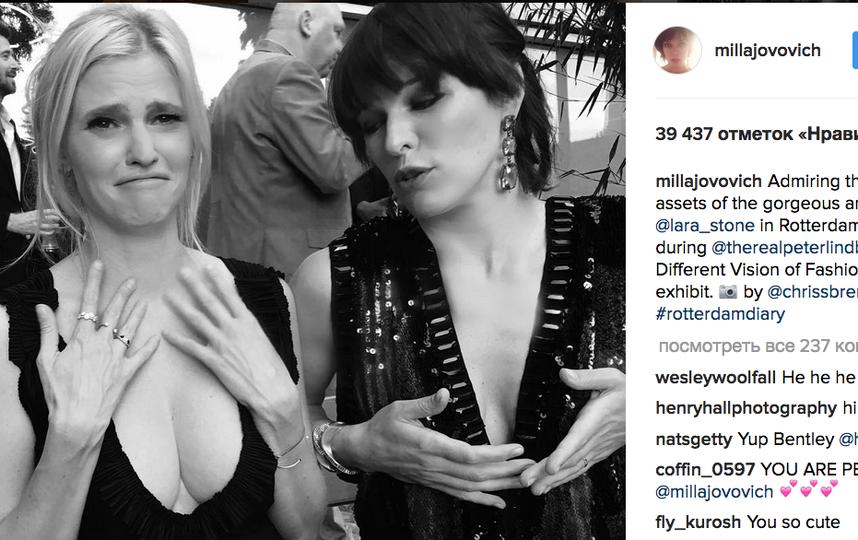 """Мила Йовович - исполнительница главной роли в """"Обители зла"""". Фото Скриншот instagram.com"""