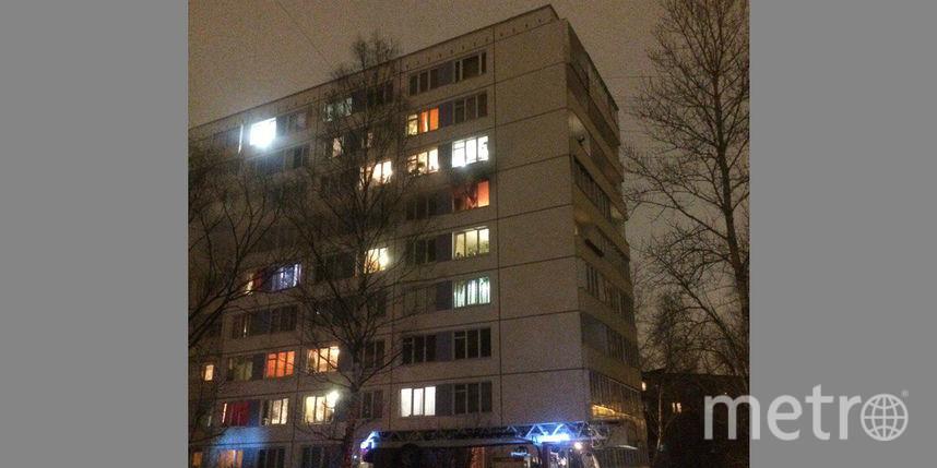 Впожаре вмногоэтажке воФрунзенском районе умер мужчина