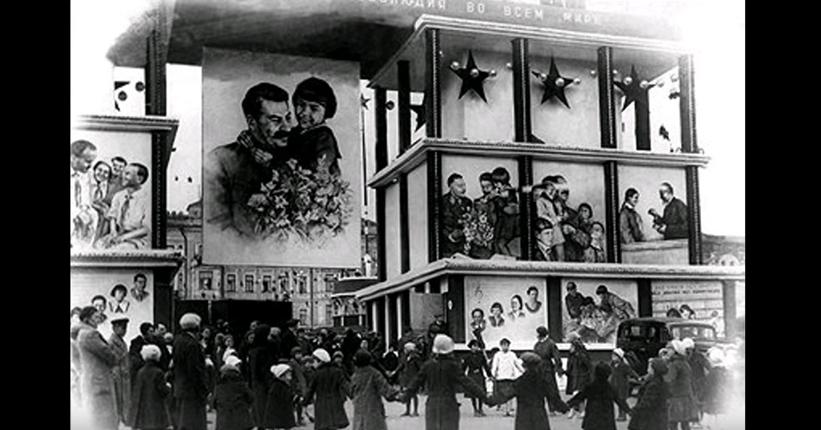 """Картина """"Сталин и Мамлакат"""". Фото скриншот YouTube"""