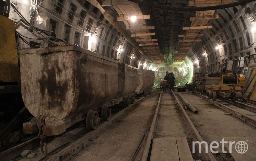 Прокладка тоннеля. Фото КРТИ