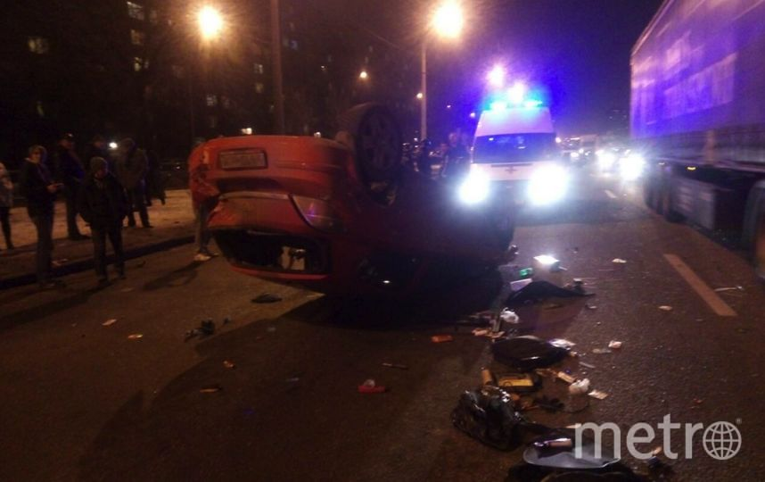 По словам очевидцев, волитель и пассажир были пьяны. Фото vk.com/spb_today