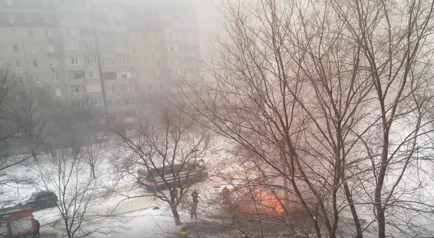 Украинские спецслужбы считают взрыв терактом. Фото Скриншот Youtube.com