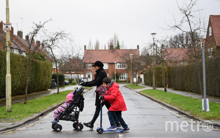 Жилые районы в Великобритании. Фото Getty