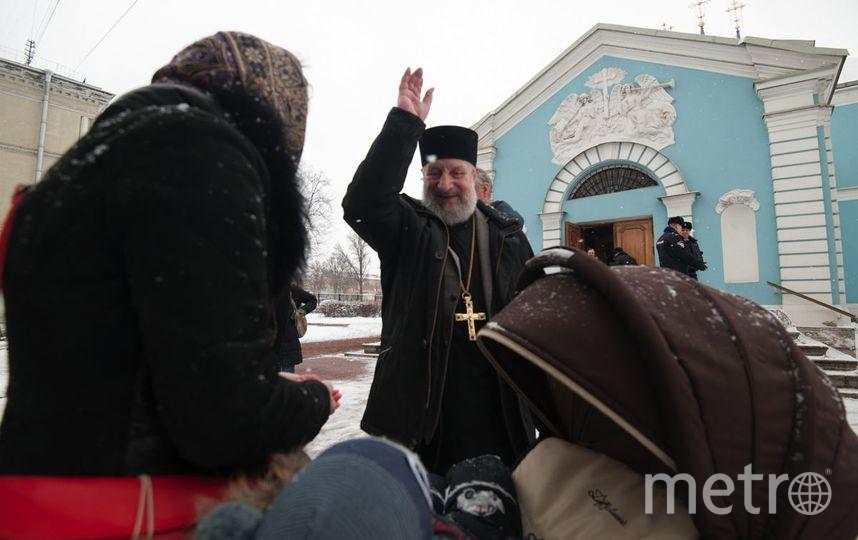 Сампсониевский собор переходит РПЦ. Фото Святослав Акимов