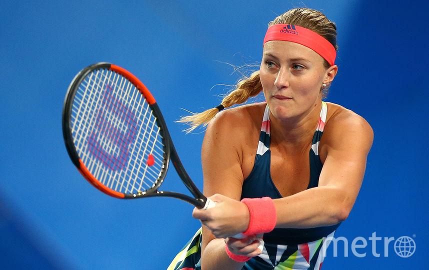 Французская теннисистка Кристина Младенович. Фото Getty