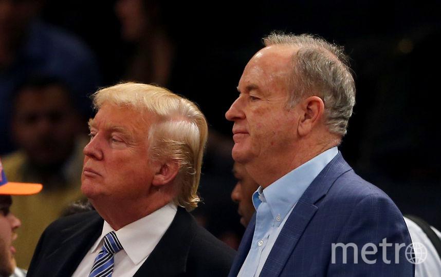 Дональд Трамп и Билл О'Рейли. Фото Getty