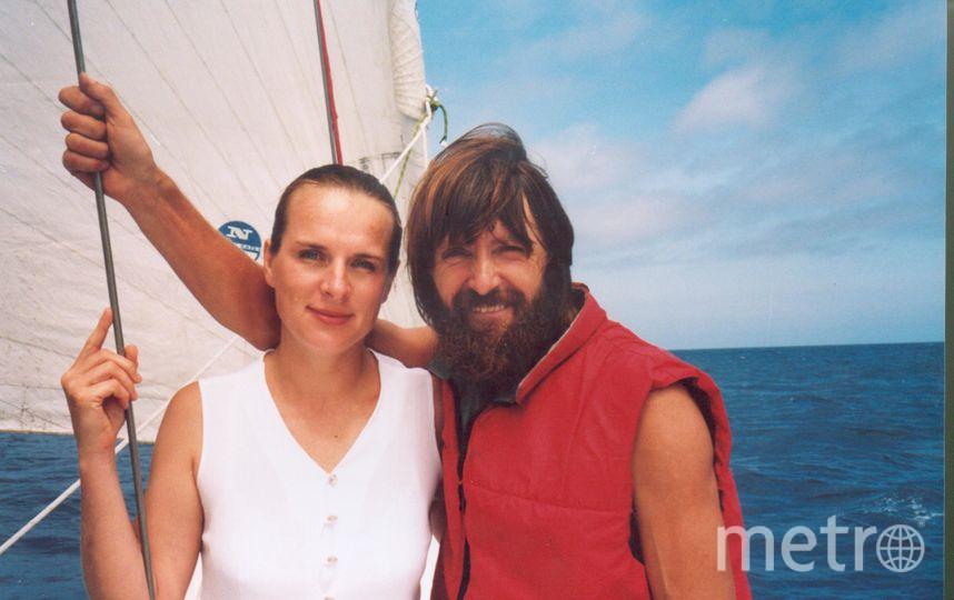 Атлантика.1999 год. Вместе в океане. Фото из личного архива Конюховых
