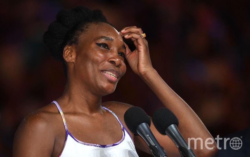 Американская теннисистка Винус Уильямс. Фото Getty