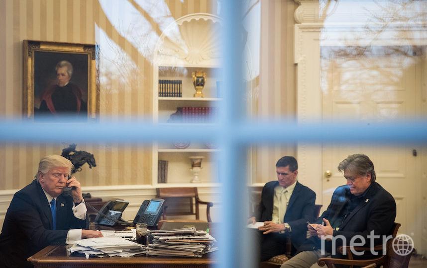 Стив Бэннон и Дональд Трамп. Фото Getty