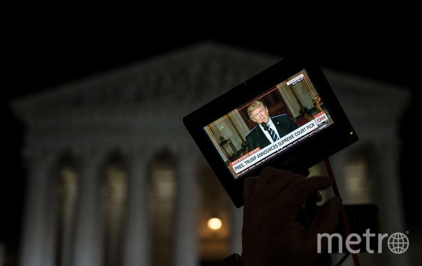 Верховный суд США. Фото Getty