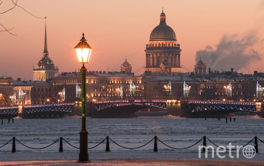 """Зима вернулась в Петербург. Фото """"Metro"""""""