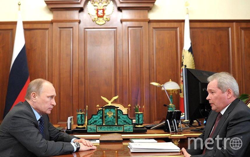 Владимир Путин и Виктор Басаргин. Фото kremlin.ru