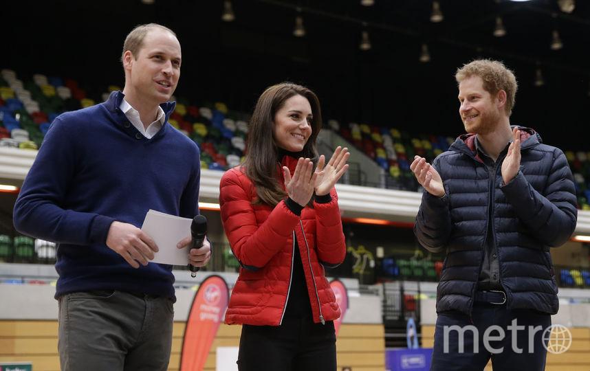 Кейт Миддлтон бегала наперегонки с принцами Уильямом и Гарри. Фото Getty