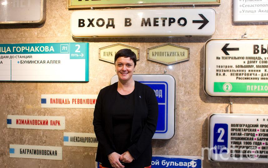 Главный редактор Metro-Москва и Metro-Петербург Анна Сирота. Фото Василий Кузьмичёнок