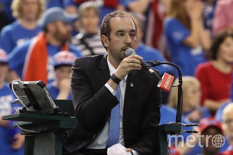 Главный арбитр матча. Фото AFP