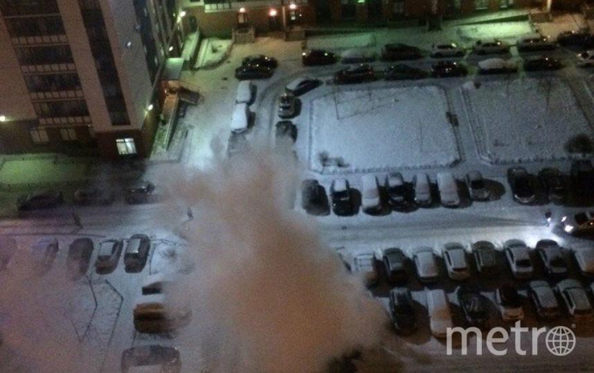 Фото с места происшествия. Фото vk.com/spb_today