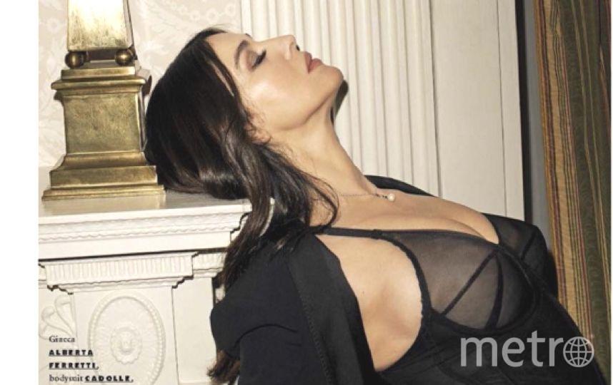 52-летняя итальянская звезда Моника Белуччи.