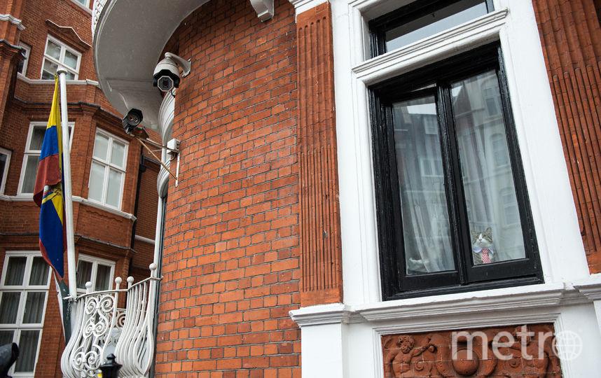 Посольство Эквадора в Лондоне. Фото Getty